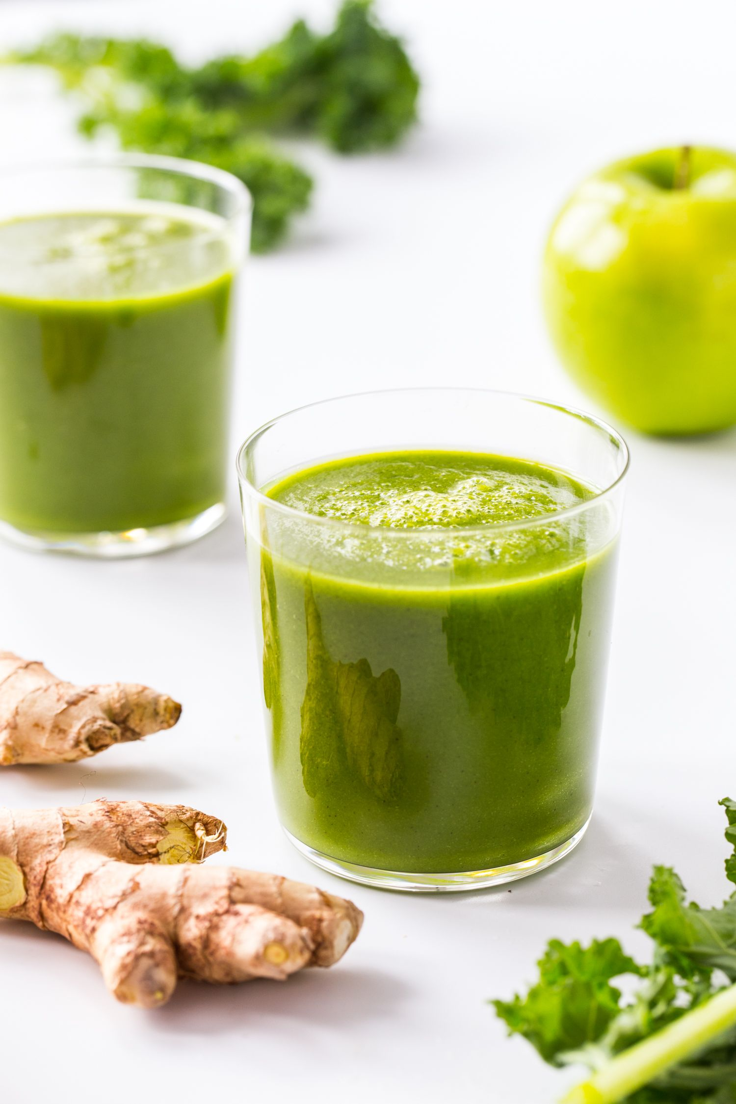 Ginger Green Apple Smoothie