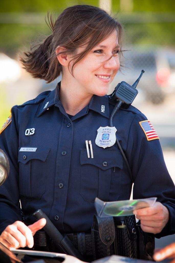 Image result for aubrey olson memphis   Police women