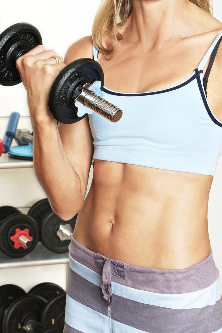 The 10-Minute Tone-Up Do each move for 1 minute  Knock out