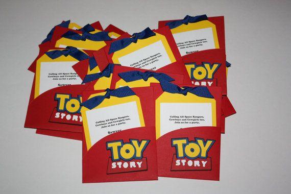 Toy Story Invitations On Etsy 24 00 Dony Invitaciones