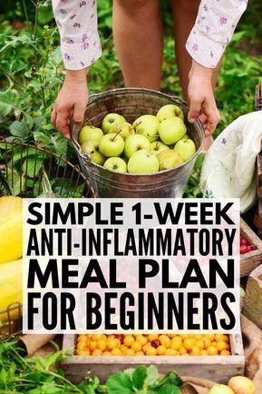Photo of Plan für entzündungshemmende Mahlzeiten: 7-tägige entzündungshemmende Diät für Anfänger