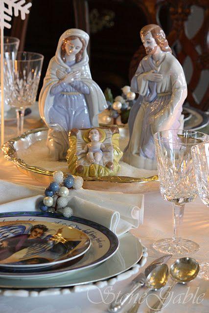 Silent Night Christmas Nativity -
