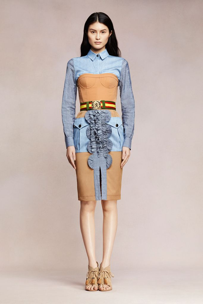 I know this is a hot mess but I'd wear it. runwaym: Altuzarra Resort 2013