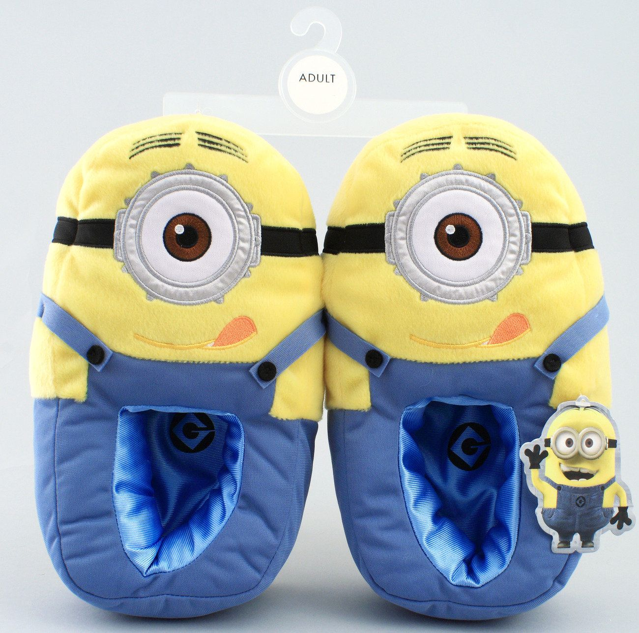 Despicable me minion plush bedroom slippers minion mayhem - Most comfortable bedroom slippers ...