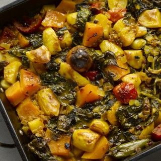 iranian vegetable stew with dried lime | omg yum-! vegan-ize it ... - Persische Küche Vegetarisch