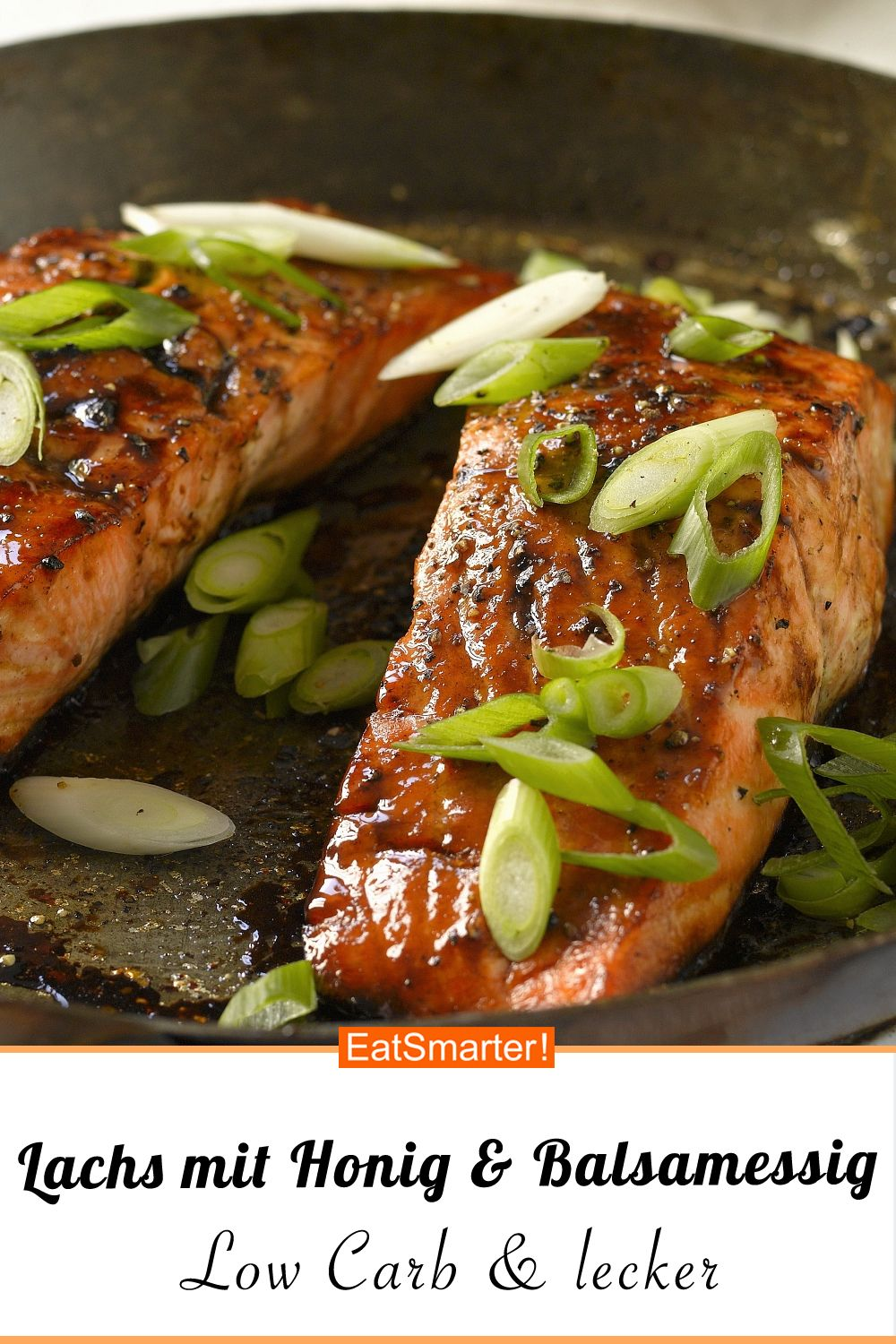 Photo of Salmon with honey and balsamic vinegar