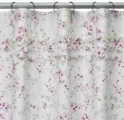 Beautiful cherry blossom shower curtains for you bathroom.