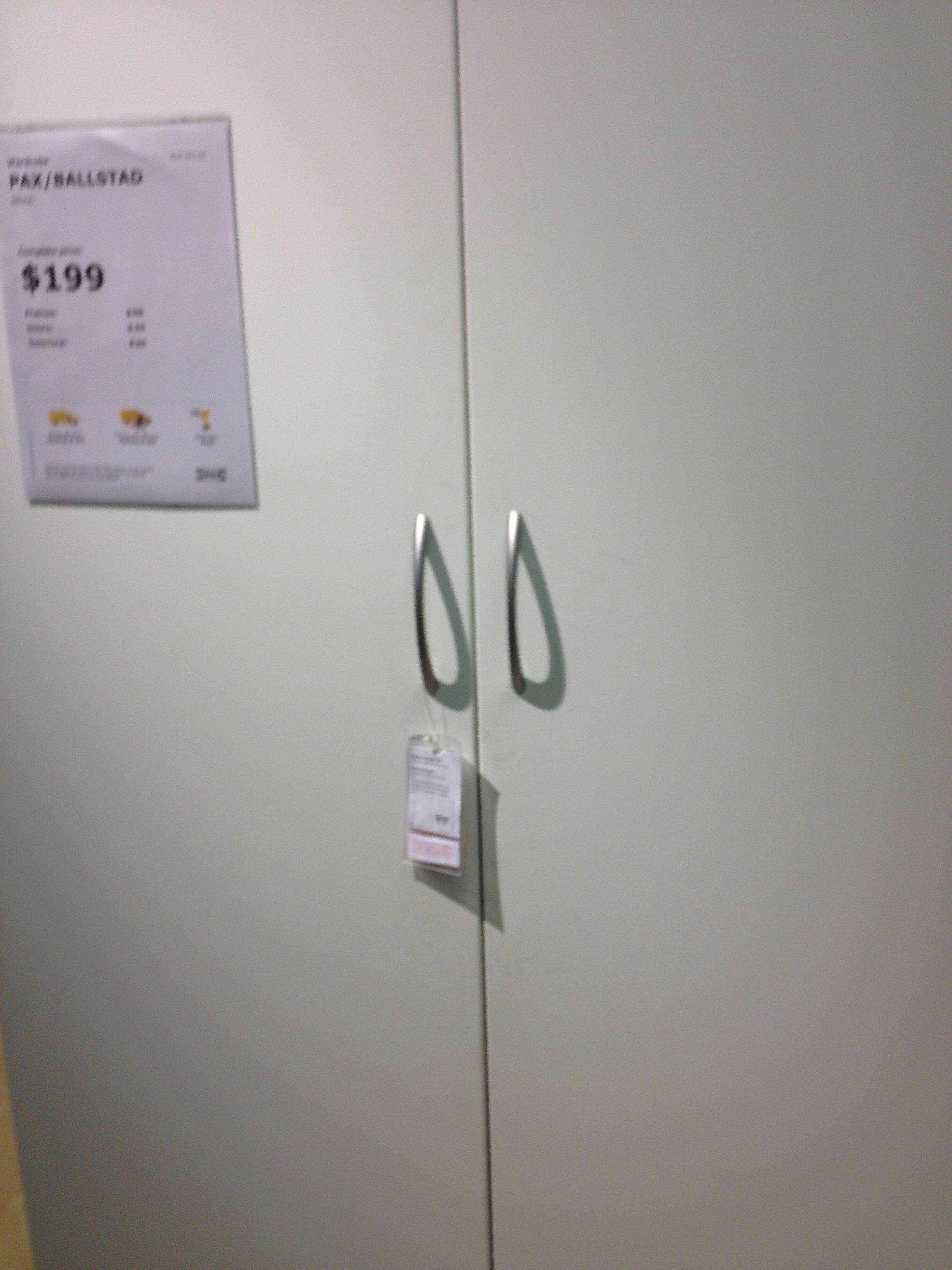 PAX/BALLSTAD Wardrobe $199 | Ikea Room Inspiration | Pinterest ...