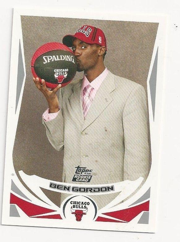2004/05 Topps Basketball #223 Ben Gordon  Rookie MINT FROM PACK #ChicagoBulls