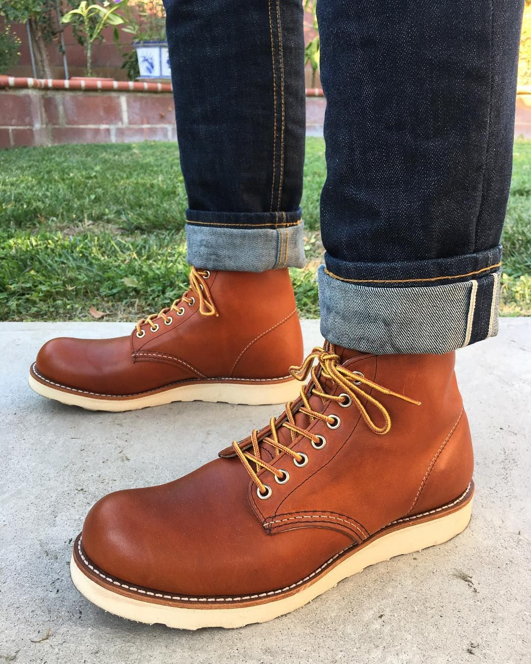 6fd13d1e Discover ideas about Dress With Boots. January 2019. red wing heritage  classic round toe ...