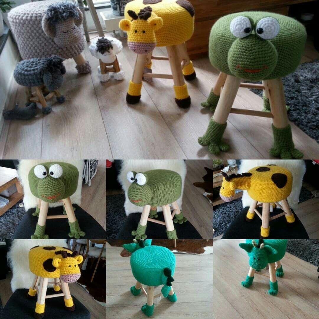 Krukjes Addicted To Crochet Pinterest Häkeln Häckeln Und Hocker