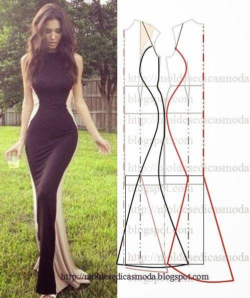Moda Por MedidaRopa MoldeVestiditos Y Costura Moldes Pinterest PiukXZ