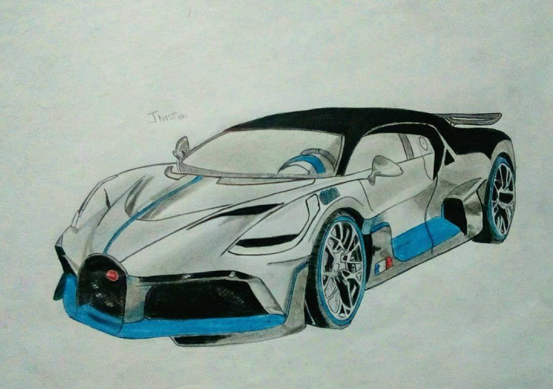 Bugatti Divo Bugatti Sketchbook Artist Artistic Share Creative Bugattidivo Painted Drawn Illusration Paint Drawing Painter Painting Pa Disegni