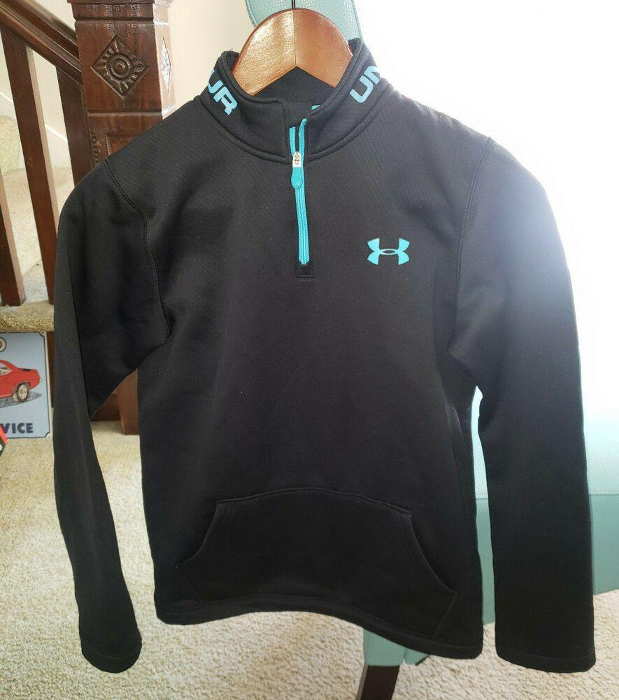 Boys Kids Youth UNDER ARMOUR Pullover Hoodie NEW Medium Long Sleeve Grey