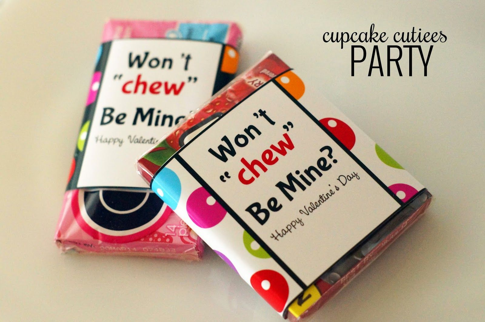 photo about Extra Gum Valentine Printable identify additional gum valentine printable Gum Valentine Wrappers