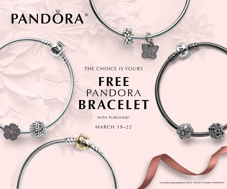 When You Buy 100 Or More Of Pandora Jewelry During March