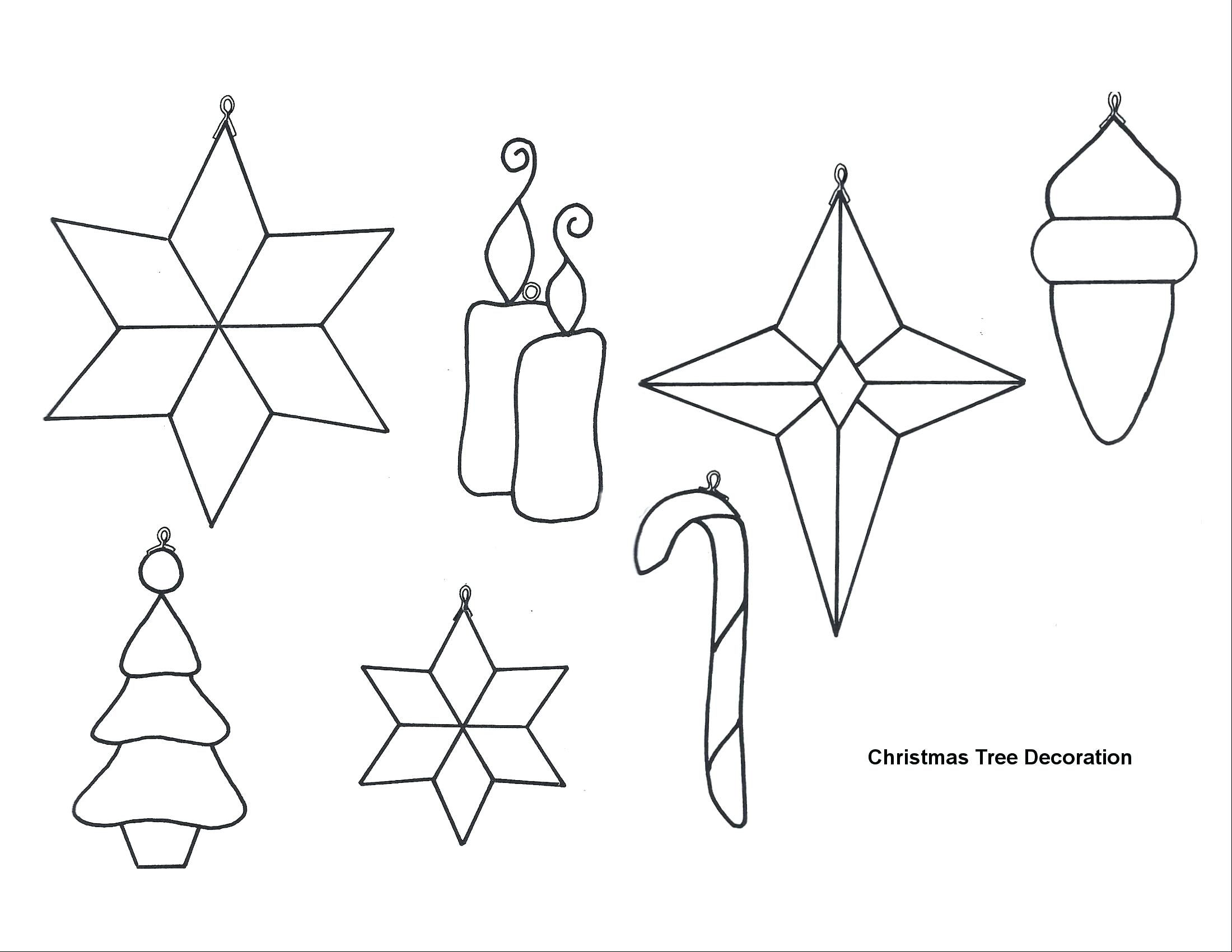 Felt Ornament Patterns Bird Xmas Free Stained Glass Christmas Stained Glass Patterns Free Christmas Ornament Template