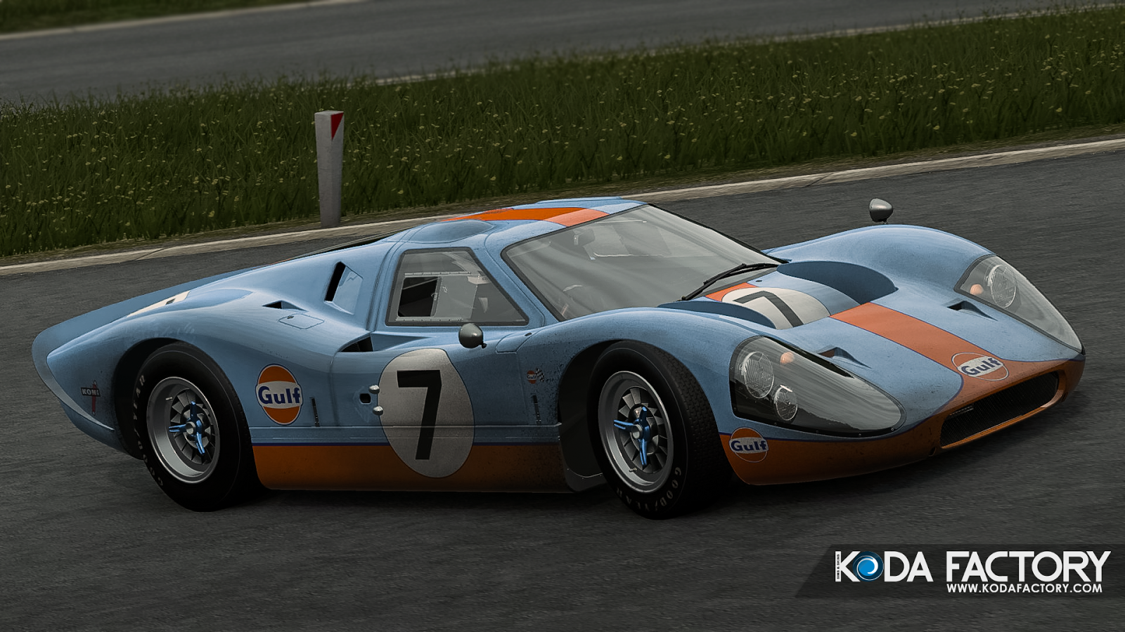 Koda Factory Ford Gt Mkiv Gulf  Pc Description From Kodafactory Blogspot Com I Searched For This On Bing Com Images