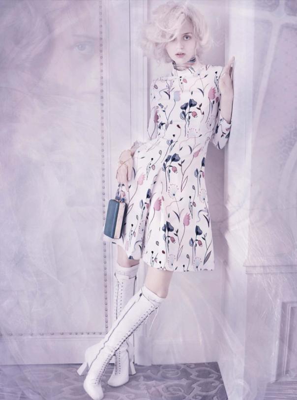 Esmeralda Seay-Reynolds by Mario Testino for Vogue Germany March 2014 5