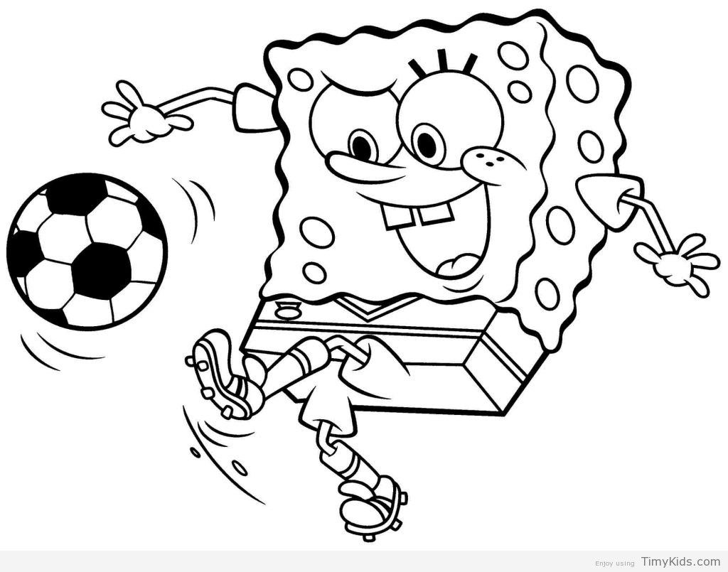 Spongebob Abc Coloring Pages From The Thousand Pictures On The Net In Relation To Sponge Football Coloring Pages Cartoon Coloring Pages Sports Coloring Pages