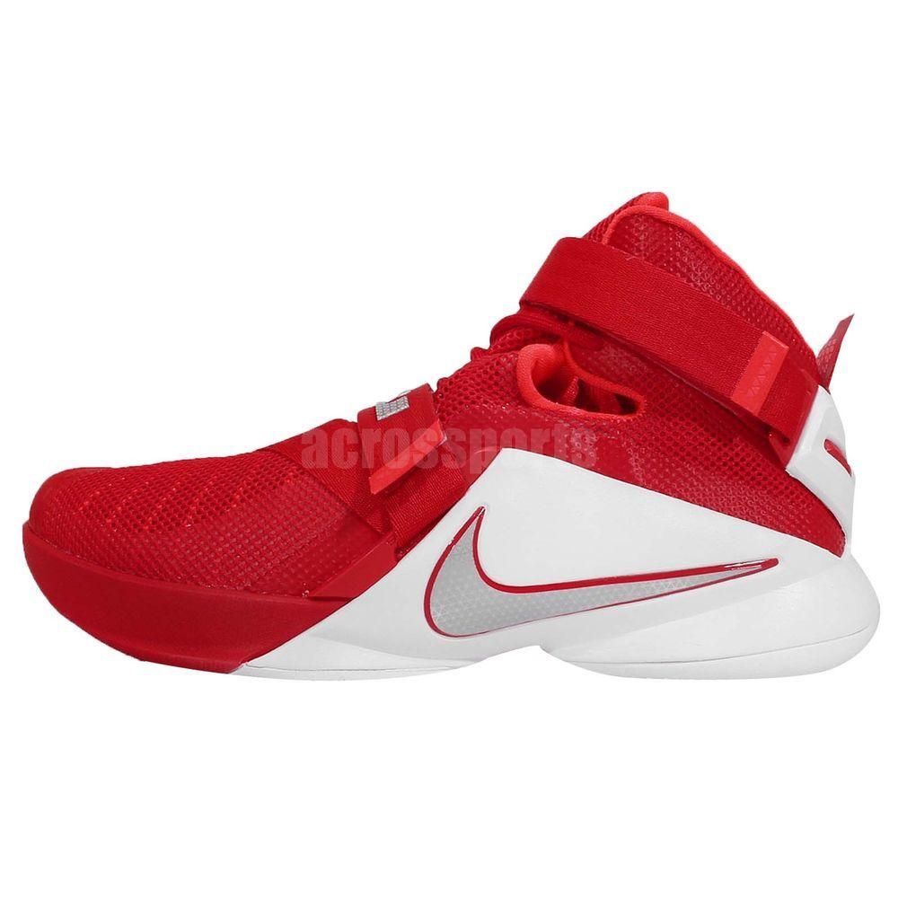 f99690c18e59 Nike Lebron Soldier IX 9 TB EP Lebron Jamens OSU Home Red Mens Basketball  Shoes http