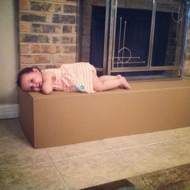 Be Worry Free Adding Baby Safety Foam To Your Fireplace