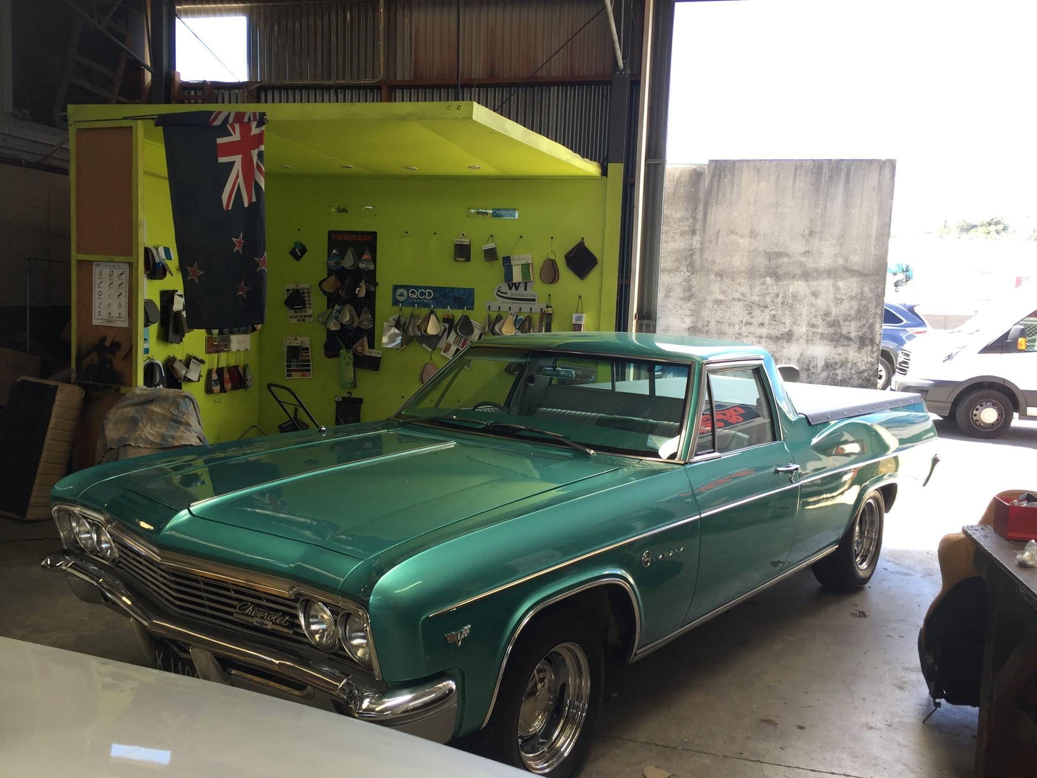 1966 Chev Bel Air Ute Converted In New Zealand Pickup Car Bel