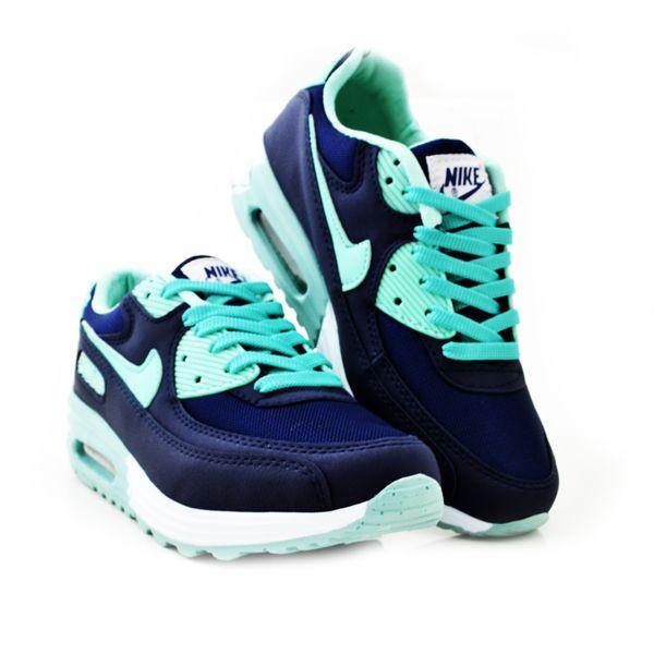Nike Air Max Lacivert Su Yesili Bayan Ayakkabi Spor Nike Air Max Nike Air Air Max