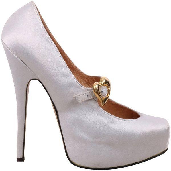 Pre-owned - Cloth heels Vivienne Westwood h67fc