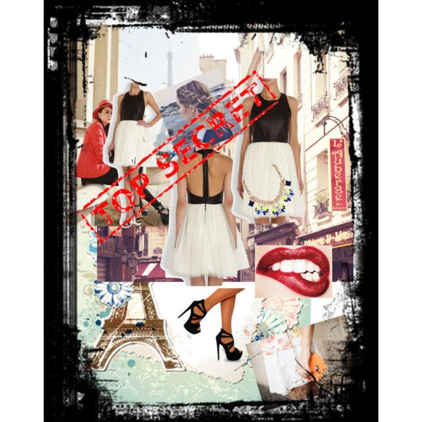 top secret destination by mcamila1 on Polyvore featuring Alice + Olivia and Humble Chic