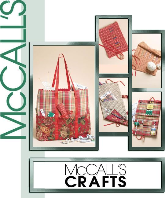 McCall's Knitting and sewing organizers 4728