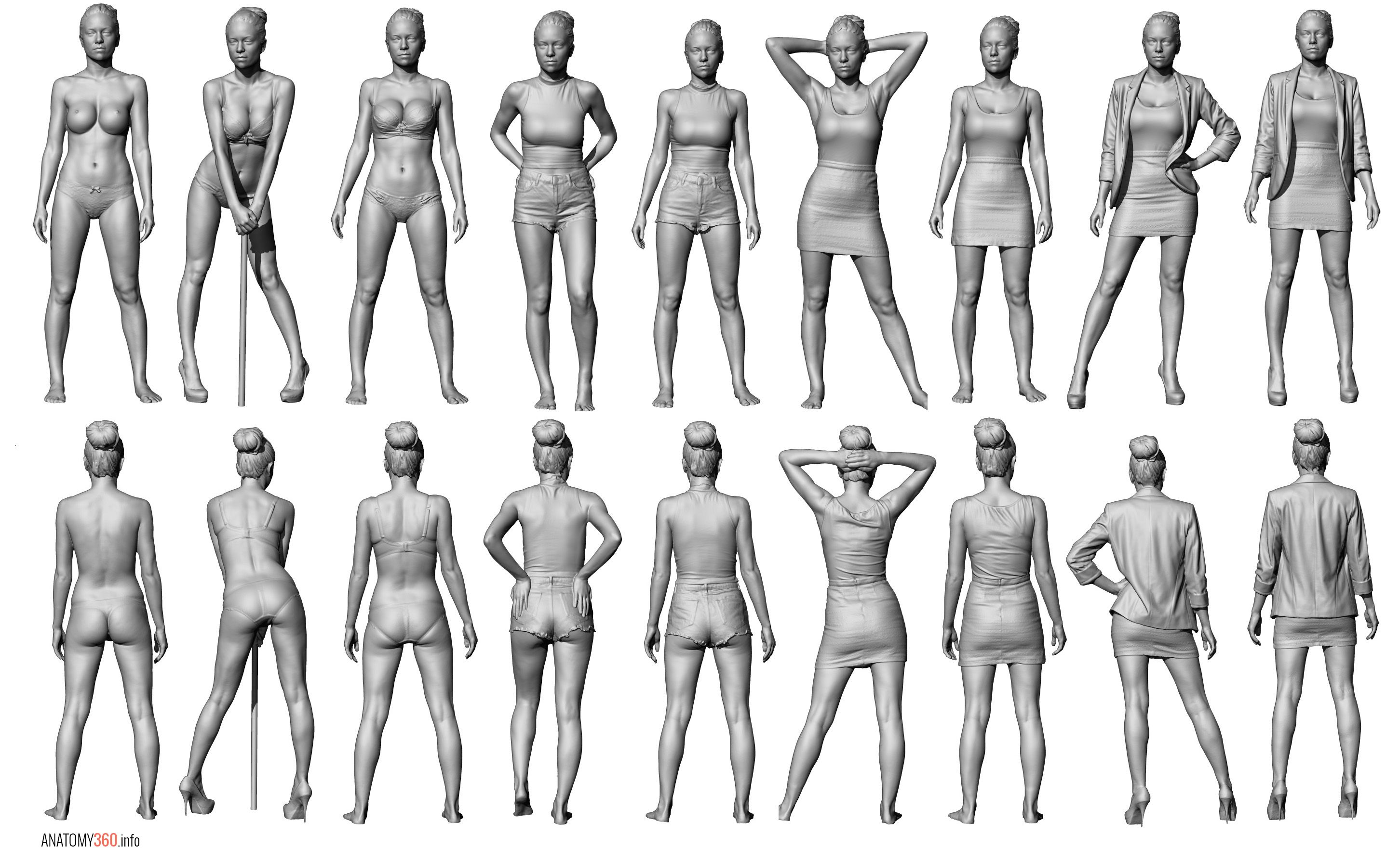 Anatomy 360 | Anatomy Scan Reference Dump | Tutorials and Tips ...
