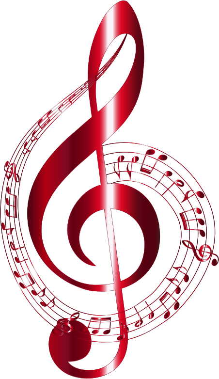 Vermilion Musical Notes Typography No Background Openclipart In 2020 Music Notes Art Music Notes Tattoo Music Notes Drawing