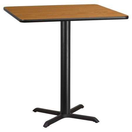 Delicieux Flash Furniture 42 Inch Square Laminate Table Top With 33 Inch X 33 Inch Bar  Height