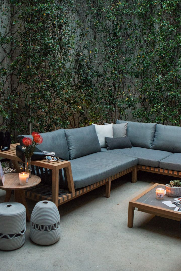 West Hollywood Design District Garden Tour with Louise Roe at 3.1 Phillip Lim. September 24, 2015. West Hollywood, CA.