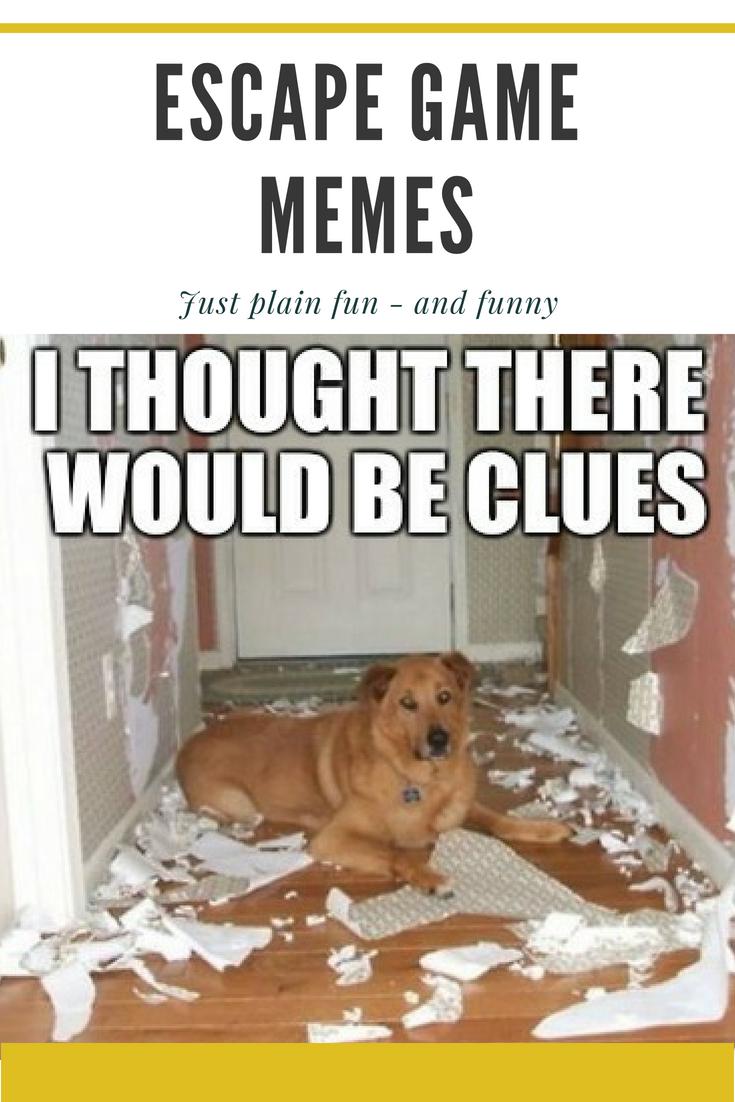 Escape Room Meme Work