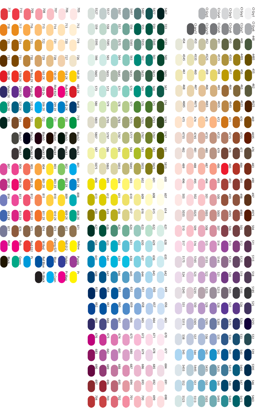 Pin By Jessica Valladares On Color Pantone Color Chart Color Palette Challenge Color Mixing Chart
