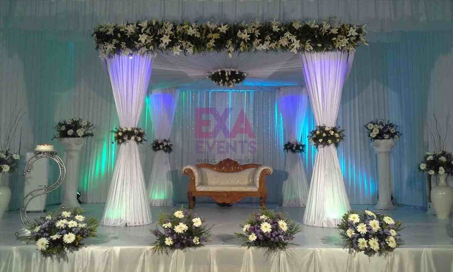 Simple Wedding Stage Decoration Ideas Siudy Net Decorations