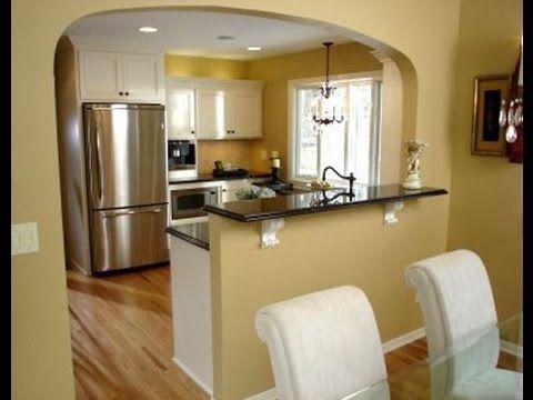 Resultado de imagen para cocina con barra de separacion for Separacion de muebles cocina comedor