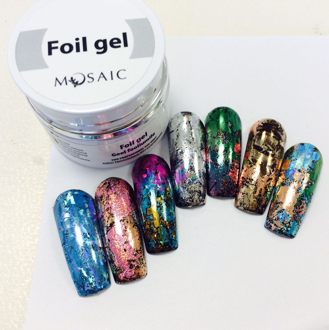 Due to your requests, i am thinking of doing a #mosaic gel paint and ...