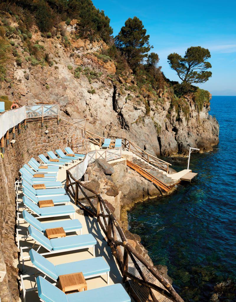 Inside the Mezzatorre Hotel, Pellicano Hotels' Idyllic Getaway on the Italian Island of Ischia