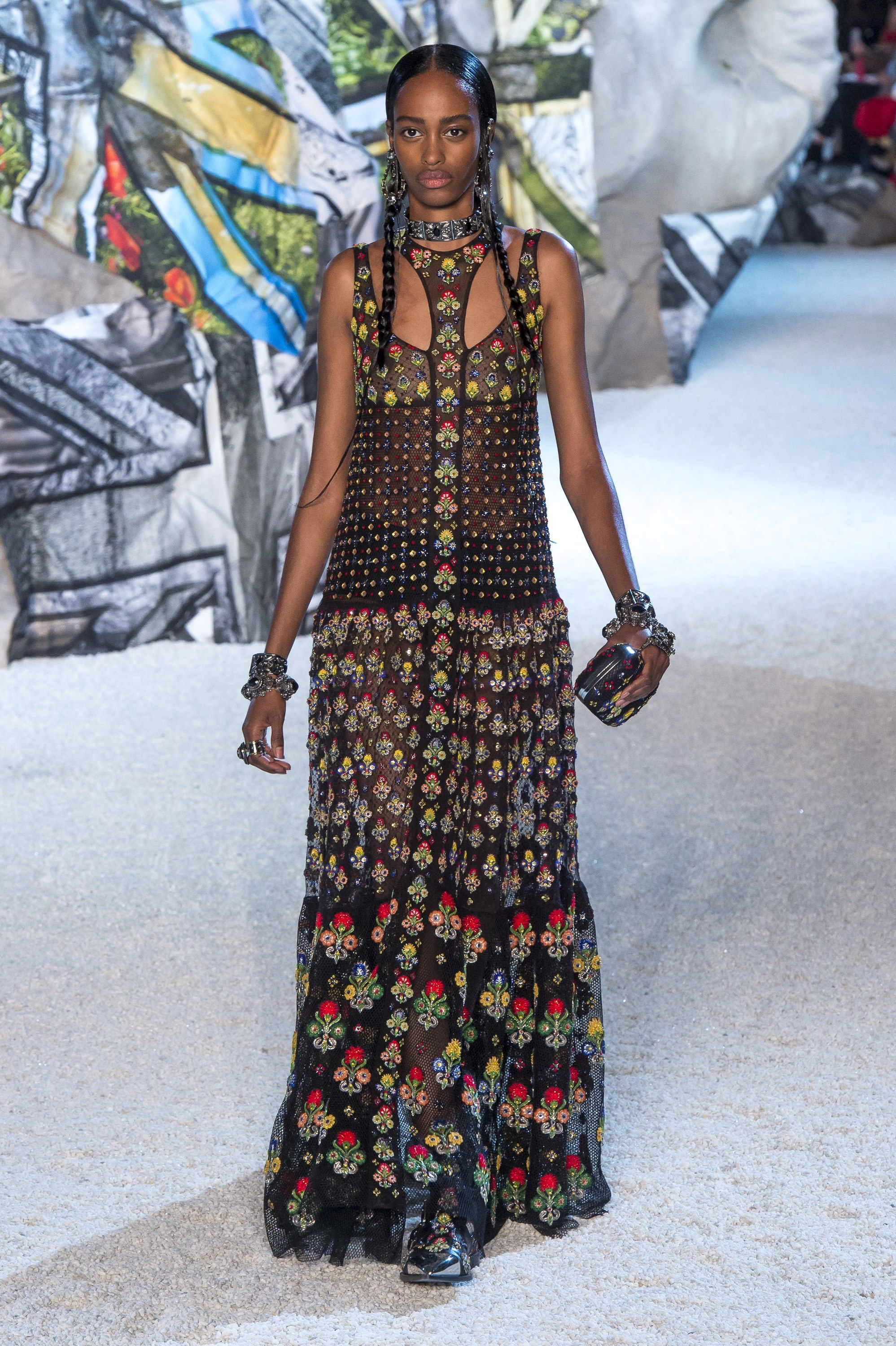 2019 year style- Mcqueen Alexander ready-to-wear spring/summer pictures