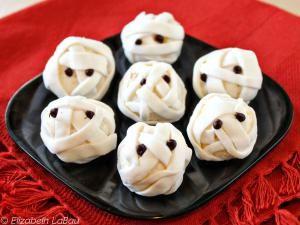 Mummy Truffles - (c) 2014 Elizabeth LaBau
