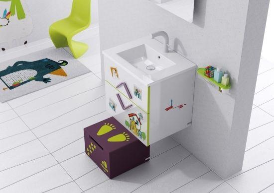 Kinder Badezimmer ~ Badmöbel kinder badezimmer sonia serie bad kind
