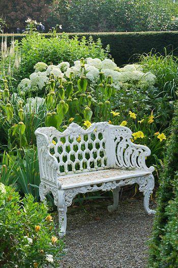 Primavera bancos Pinterest Primavera, Bancos y Jardín - jardines con bancas