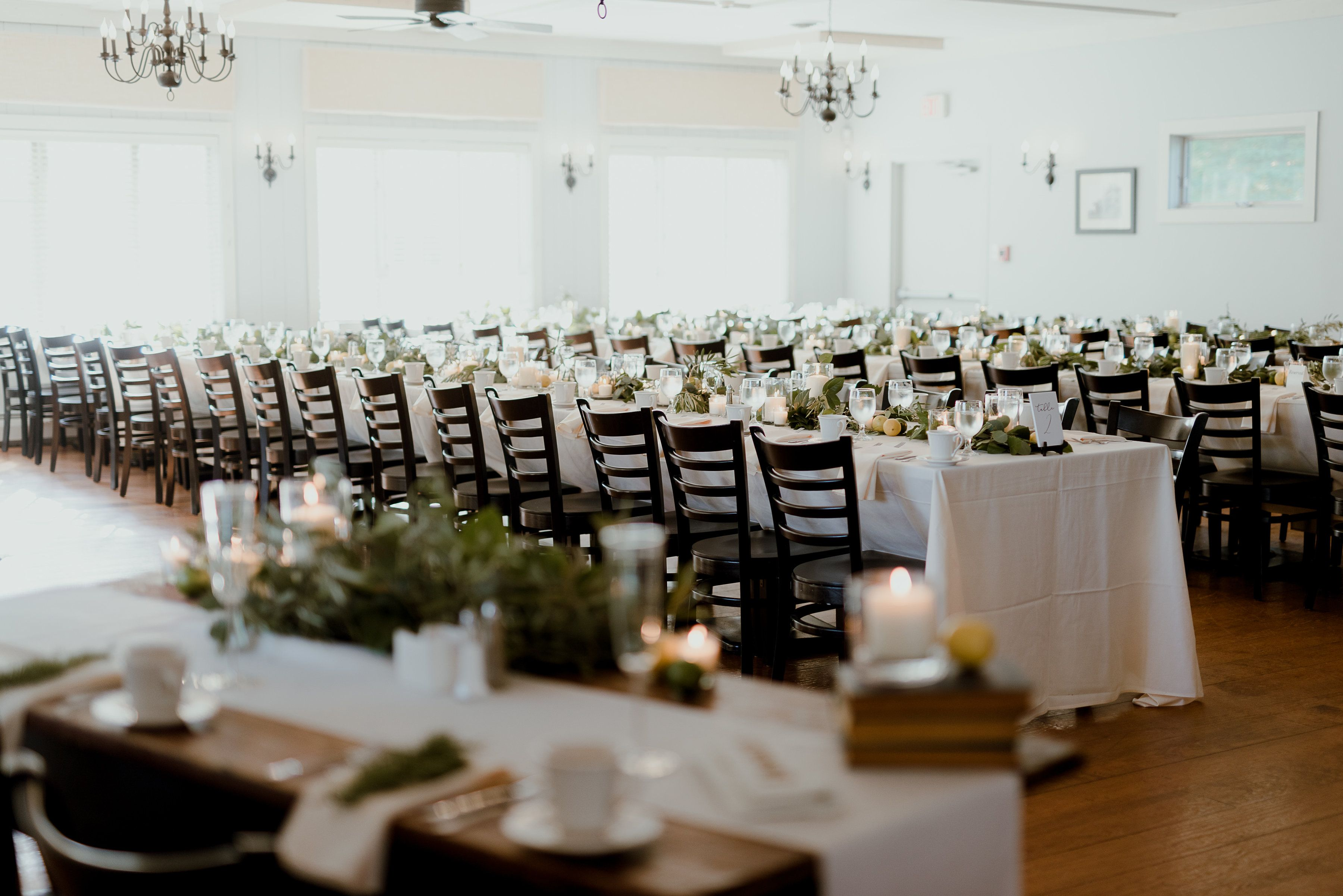 A Reception In Our Carriage House Restaurant Seating Up To