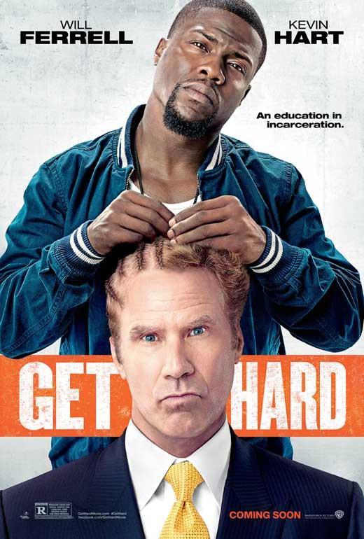 Get Hard 27x40 Movie Poster 2015 Hard Movie Comedy Movies