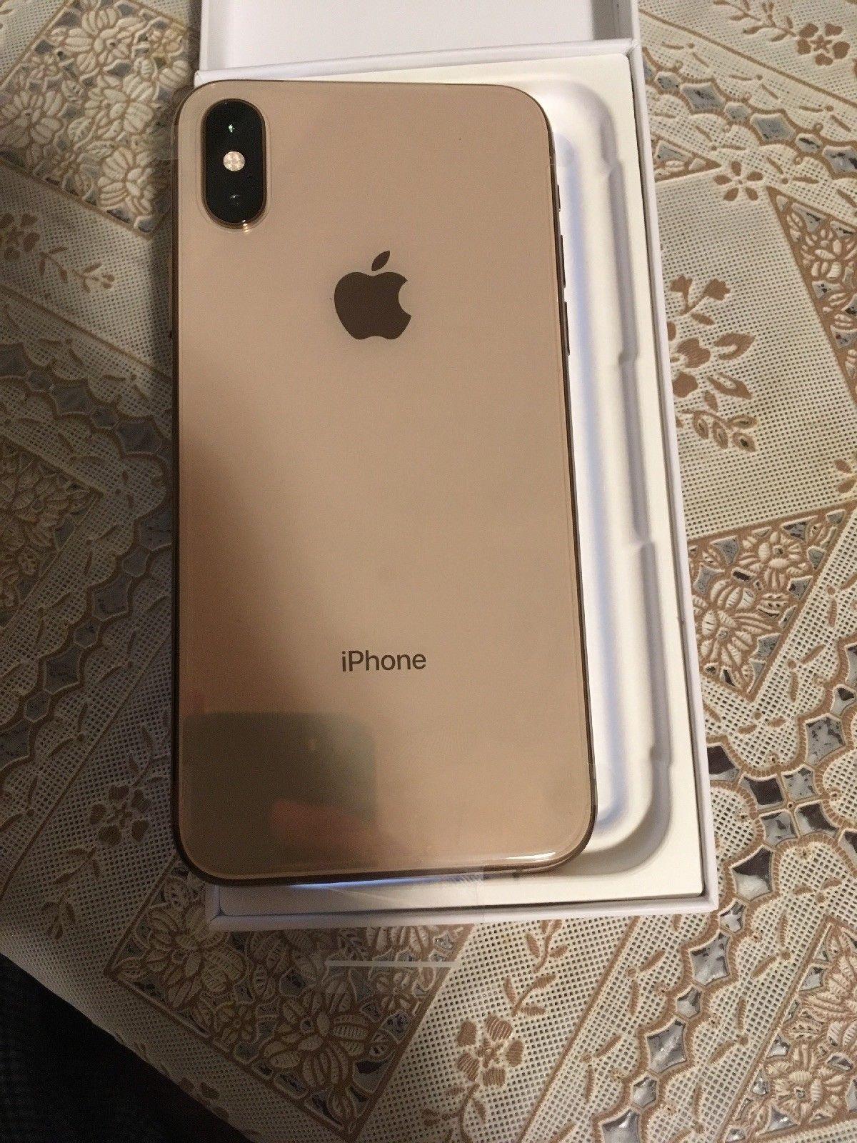 New Apple Iphone Xs 256gb Gold Unlocked A1920 Cdma Gsm Latest Model 1150 0 Iphone Xs Iphone Apple Smartphone Apple Iphone