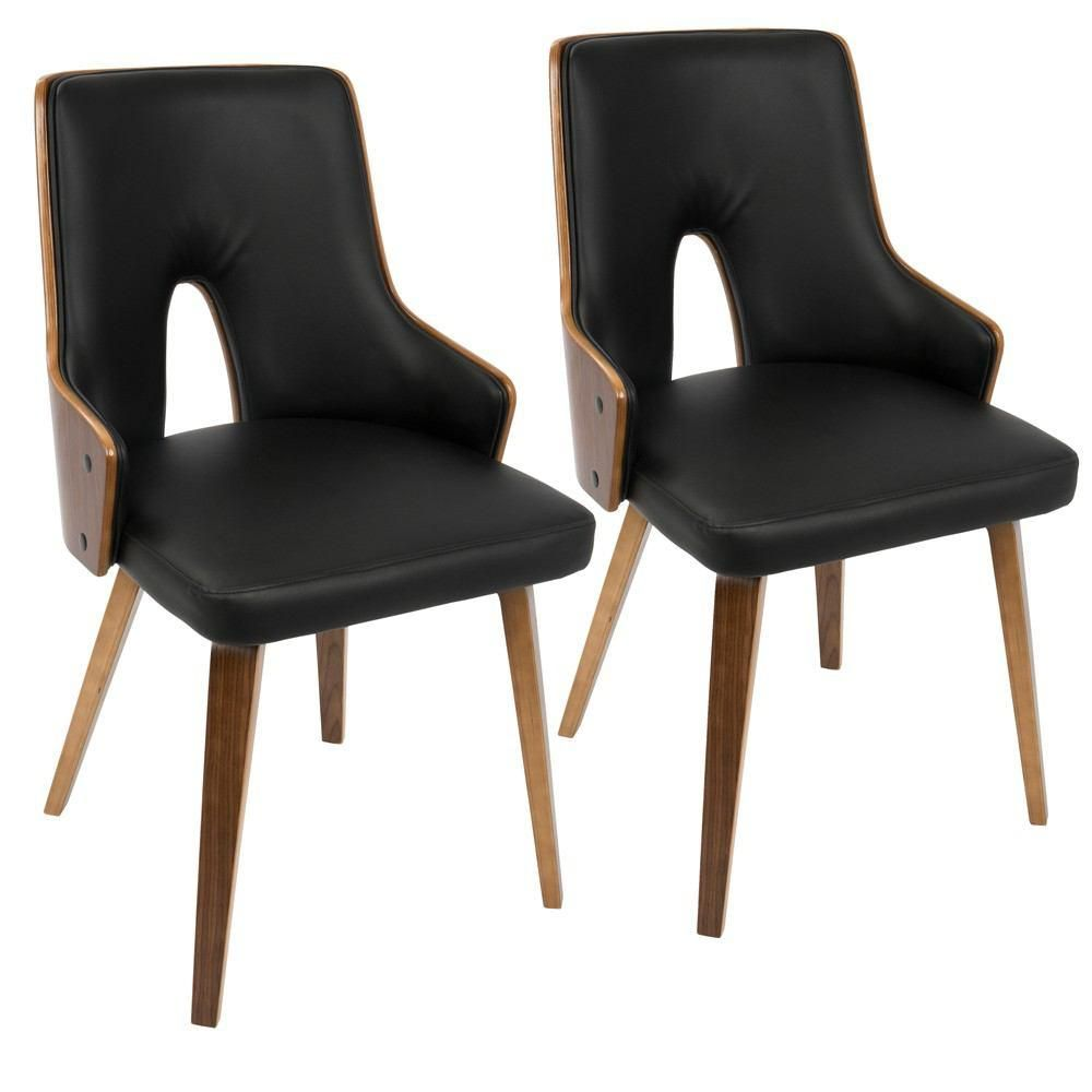 Lumisource Stella Padded Dining Chair Set Of 2 Innit