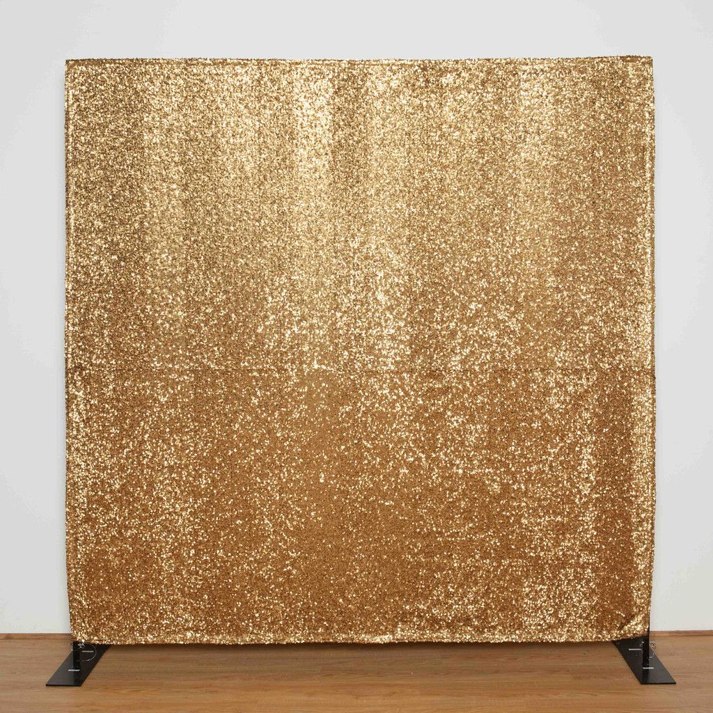Gold Sequin backdrop for photo booth, wedding, bar mitzvah ...
